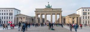 Brandenburger Tor monument bygning Berlin