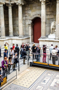 Pergamon museet kunstutstilling i Berlin