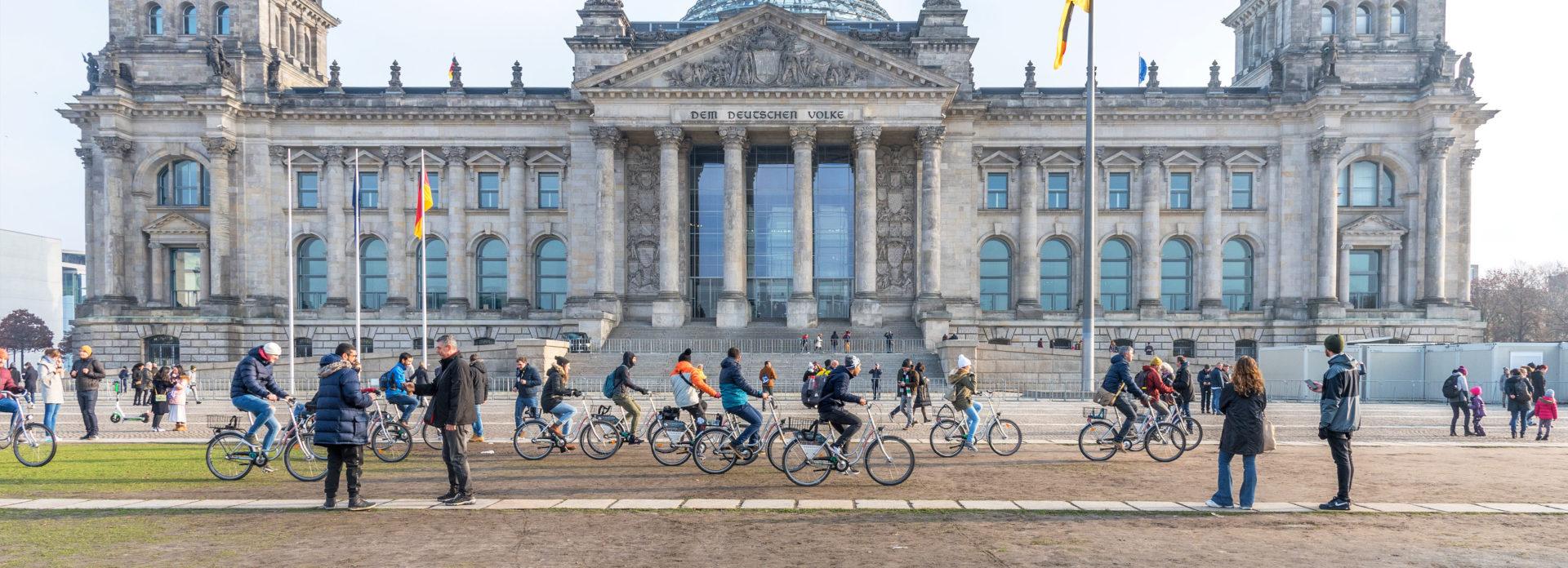 Riksdagsbygningen Reichstag Berlin