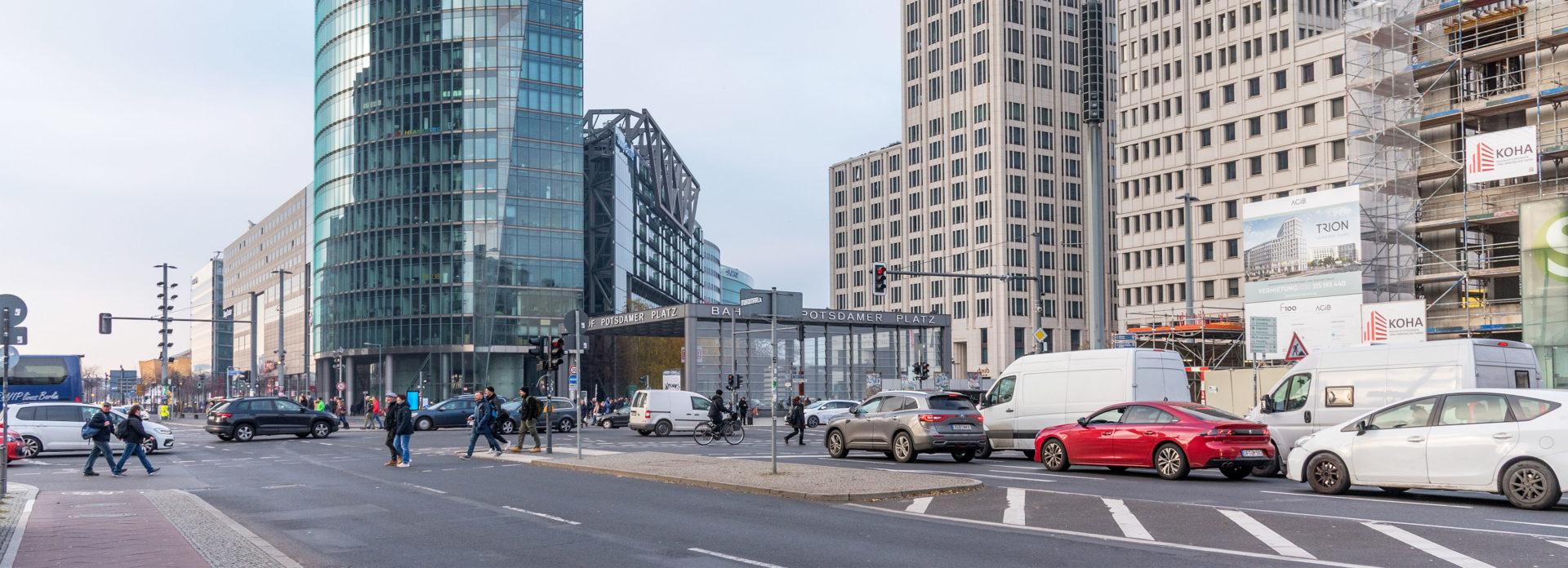Potsdamer Platz Berlin shopping severdighet