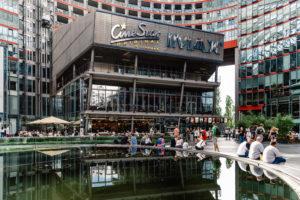Potsdamer Platz Berlin shopping severdighet samleplass