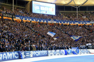 Hertha Berlin se fotball Tyskland Olympiastadion supportere Ultra