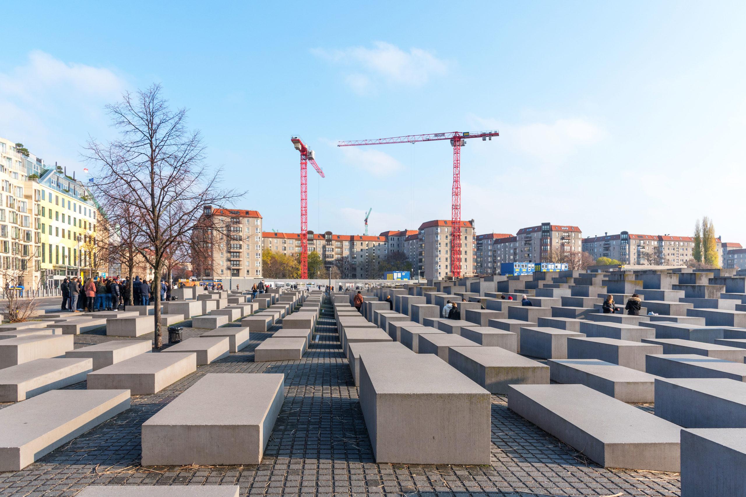 Hva bor du gjore i Berlin attraksjoner Holocaust monument museum