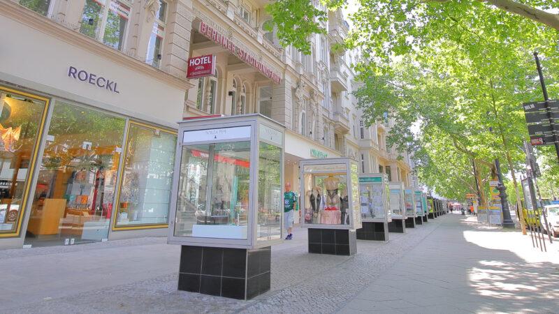 Kurfurstendamm handlegate shopping shoppinggate Berlin